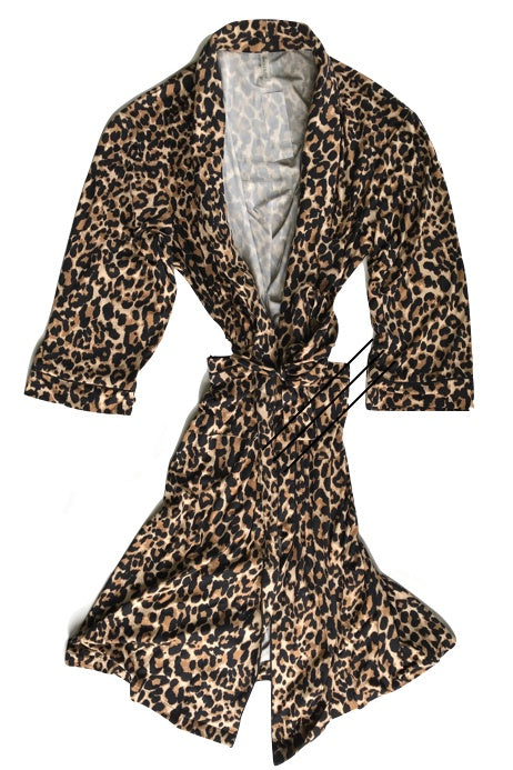 Cheetah Robe