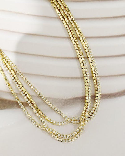 Sienna Tennis Necklace