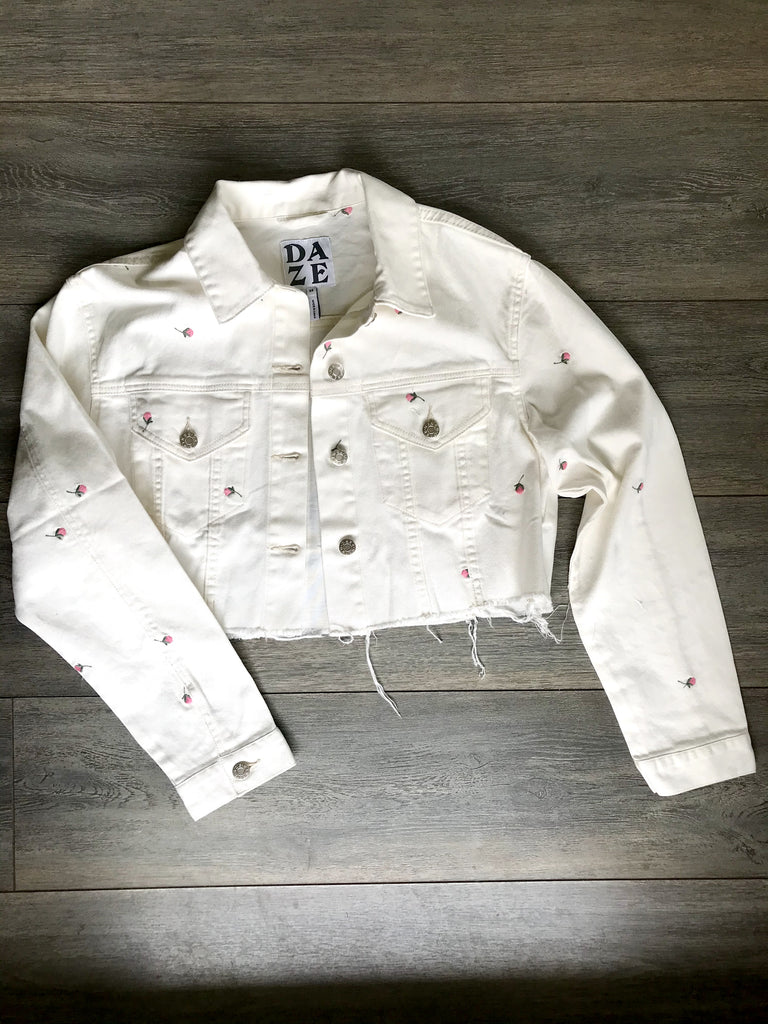 Ex Boyfriend Crop Loose Jacket