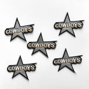 COWBOYS HAT STICKERS (5 PACK)