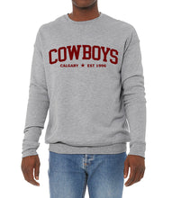 Load image into Gallery viewer, Cowboys Crewneck EST 1996 (Unisex)
