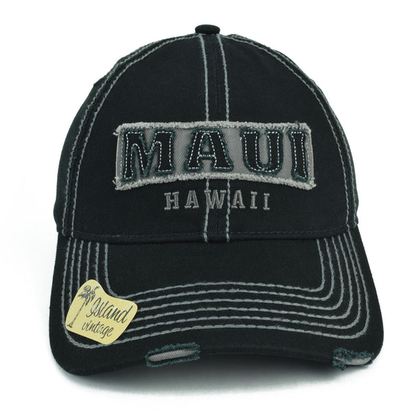 Maui Hawaii Distressed Hat