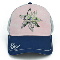 Maui Flower Trucker Hat