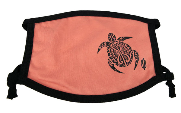 Hawaiian Honu3 Turtle Cloth Mask