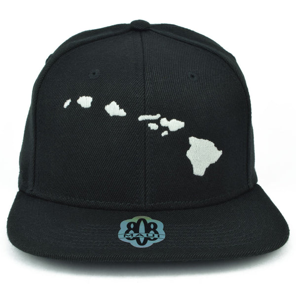 Hawaiian Islands Flatbill Hat