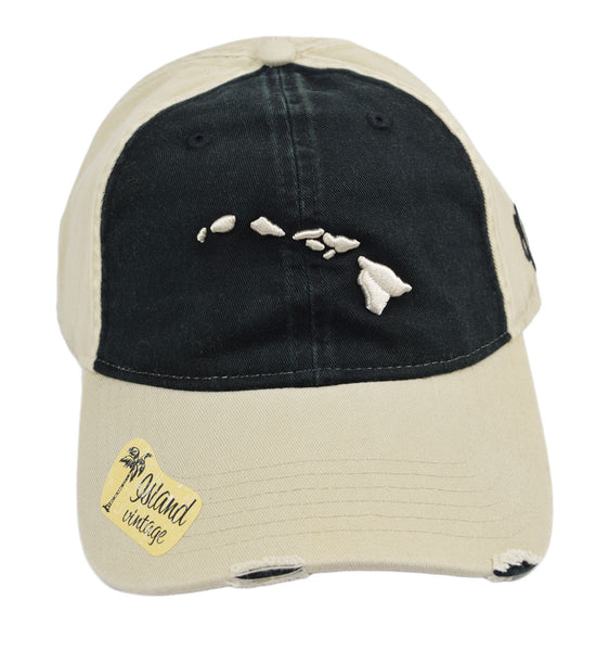Hawaiian Islands Distressed Hat