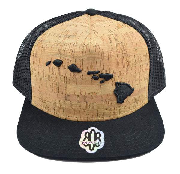Hawaiian Islands 3d Flat Bill Hat
