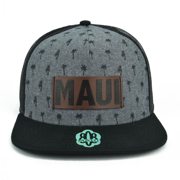 Maui Palm Tree Patch Hats
