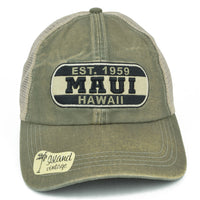 Maui Hawaii Patch Hat - Vintage