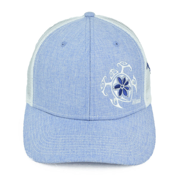 Flower Honu2 (Turtle) Trucker Hat