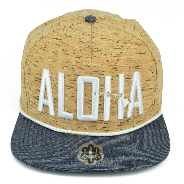 Aloha with islands 3D Flatbill Hat