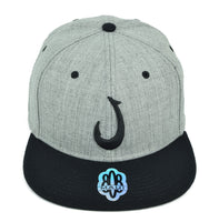 Hawaiian Hook 3D Flatbill Hat