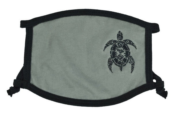Hawaiian Honu Embroidered Cloth Mask