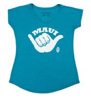 Shaka Ladies T-Shirt (Small, Medium, Large, X-Large Only)