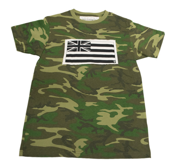 Hawaiian Flag Patch T-Shirt (small, medium,X-Large and XXL only)