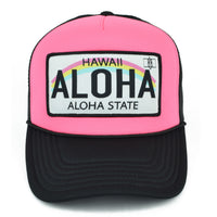 License Plate Trucker Hat