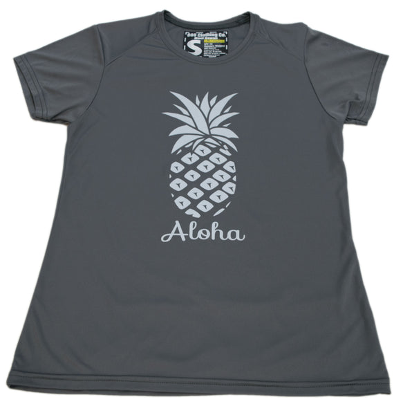 Ladies Performance Pineapple T-shirt (Small, Large, X-Large, XX-Large only)