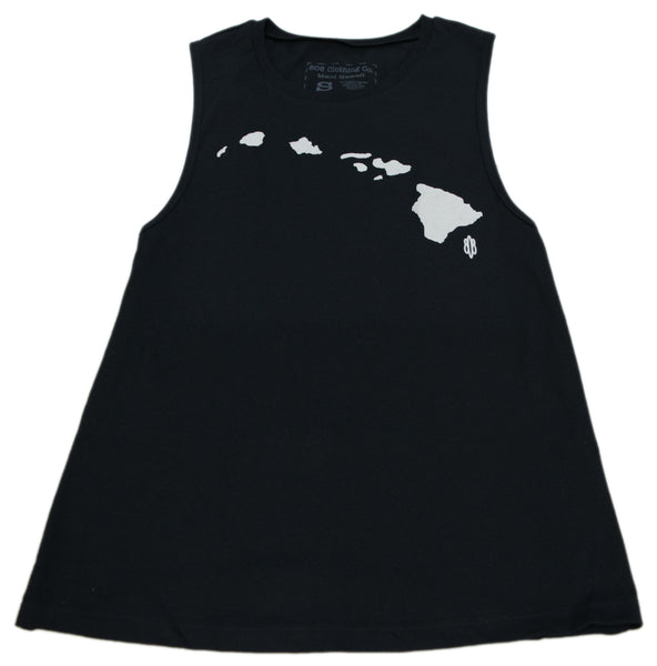Hawaiian Islands Muscle Tank Top