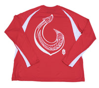 Hawaiian Hook Performance Long Sleeve T-Shirt