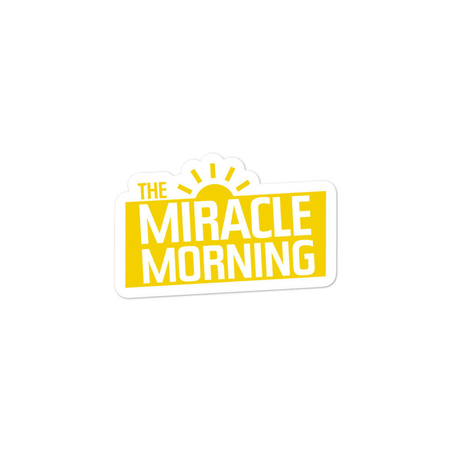 Miracle Morning Sticker