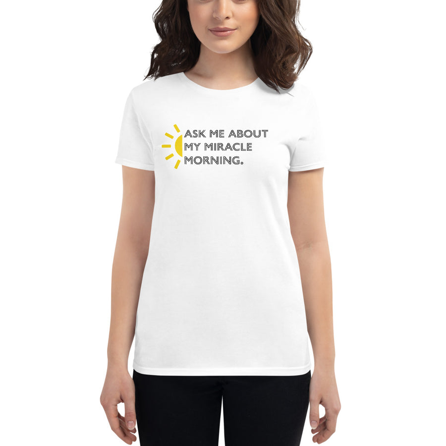 My Morning Routine Women's Tee