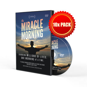 The Miracle Morning Movie (DVD 10 Pack)