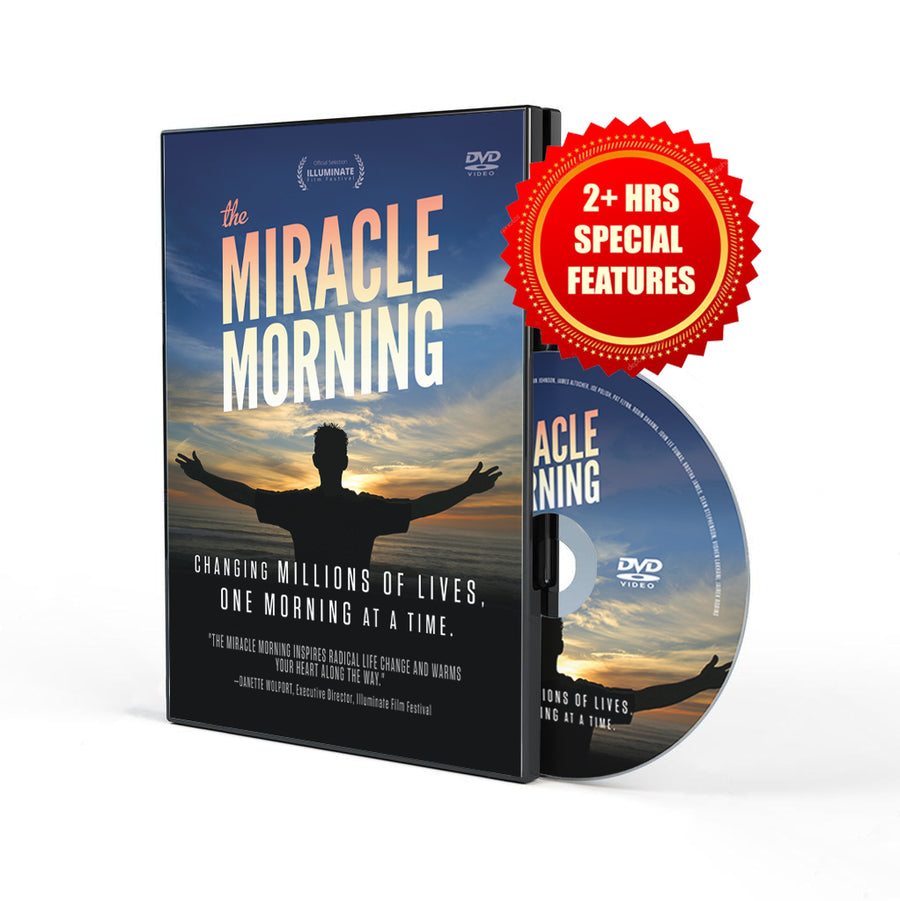 The Miracle Morning Movie (DVD 5 Pack)