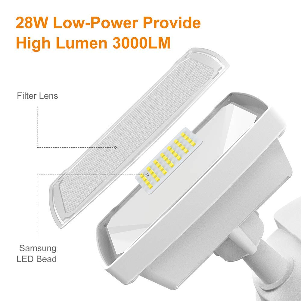 Lepower Motion Sensor Light with Dusk to Dawn Light ( 3000LM )