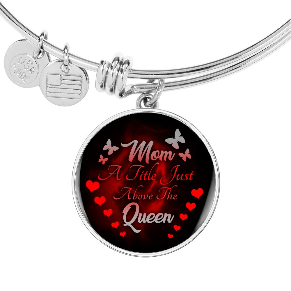 Mom Queen Luxury Circle Bangle Jewelry