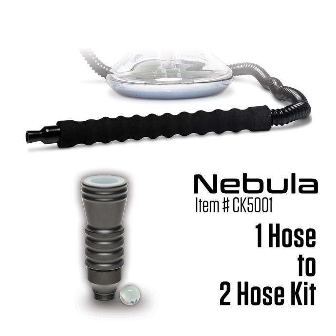 Convert 1 Hose to 2 Hose Kit - Nebula (Item # CK5001) - Click Technology