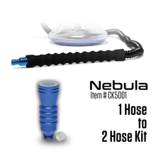 Load image into Gallery viewer, Convert 1 Hose to 2 Hose Kit - Nebula (Item # CK5001) - Click Technology