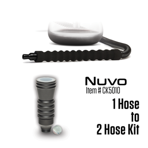 Convert 1 Hose to 2 Hose Kit - Nuvo (Item # CK5010) - Click Technology