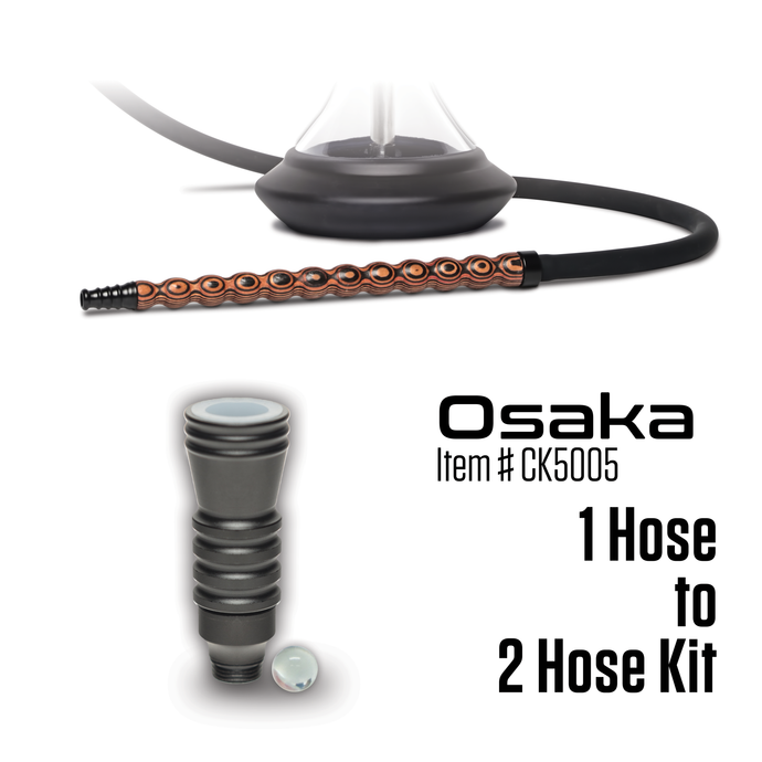 Convert 1 Hose to 2 Hose Kit - Osaka (Item # CK5005) - Click Technology