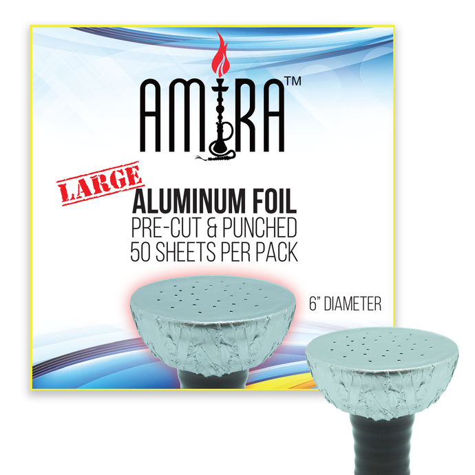 Large Amira Pre-Punched Aluminum Foil