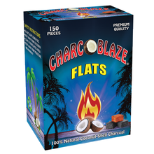 Load image into Gallery viewer, Charcoblaze Coconut Charcoal Flats - 150 pcs (1.5 kg)