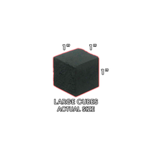 Load image into Gallery viewer, Charcoblaze Coconut Coals 10kg Lounge Box Cubes