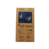 Beeswax Food Wraps - Navy Manu 3-Pack