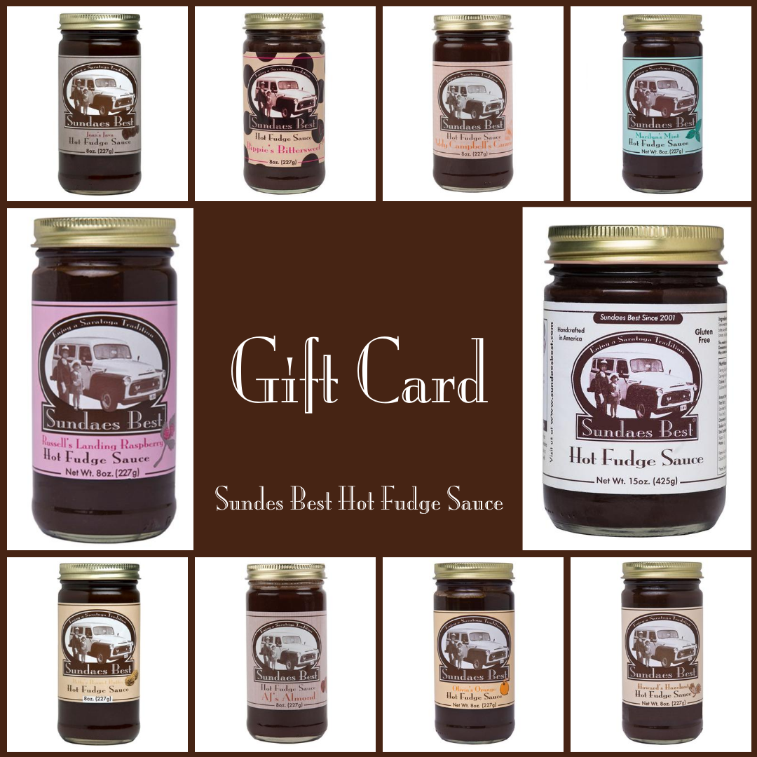 Sundaes Best Hot Fudge Gift Card