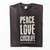 Peace Love Chocolate T-shirt