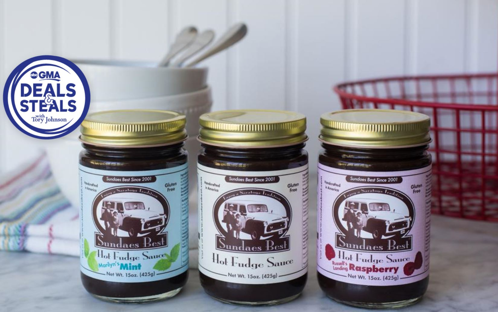Trifecta Sundae Pack - Mint and Original and Raspberry Hot Fudge Sauce