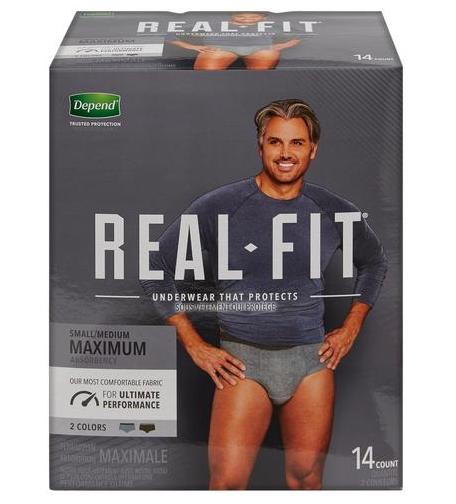 Depend Real Fit Underwear for Men