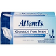Attends Guards for Men, Light absorbency, Form-fitting shape, Discreet