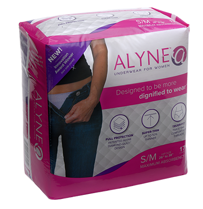 Alyne Women's Incontinence Pull Up Underwear, Ultra-Thin, Odor-locking, Leg guard