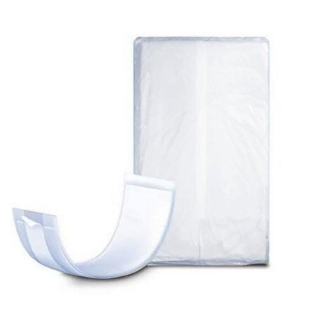 "Attends Booster Pads, Super absorbency, Individually Wrapped 4"" x 13.5"" - 30/Pack"