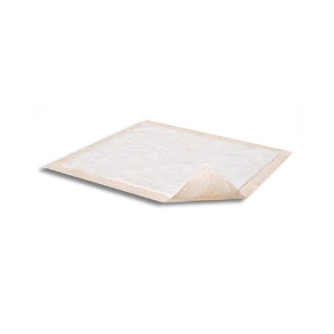 "Attends Disposable Polymer Underpads, Moderate absorbency, Leak-proof backing 30"" X 36"" - 10/Pack"