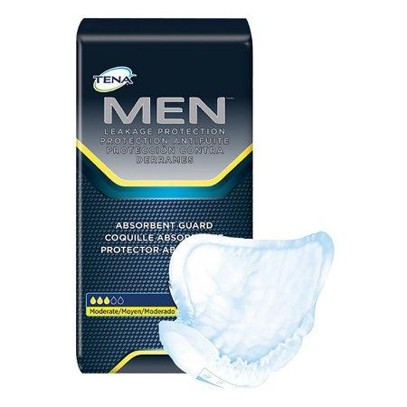 TENA Men's Moderate Guards, Moderate absorbency, Discreet, Quick-drying 20/Pack