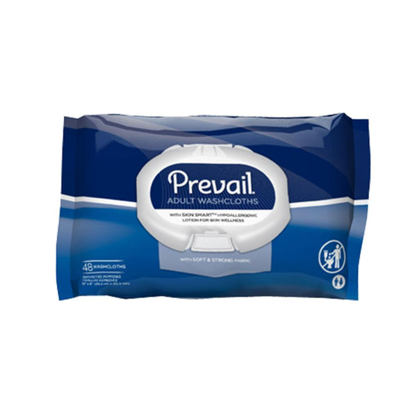 Prevail Disposable Wipes, Hypoallergenic, Skin moisturizing, Super strong 48/Pack