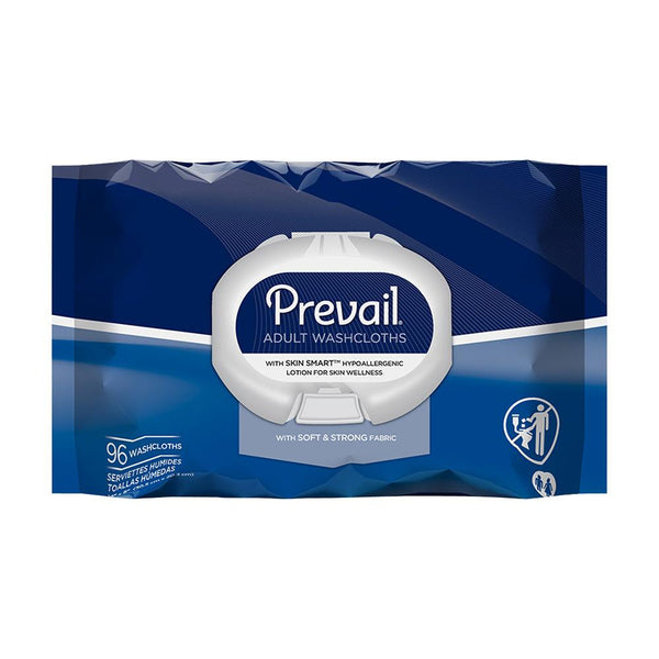 Prevail Disposable Wipes, Hypoallergenic, Skin moisturizing, Super strong 96/Pack
