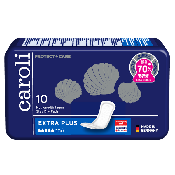 Caroli Extra Plus Pads single package