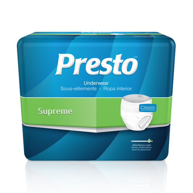 Presto Classic Pull Up Underwear - Supreme